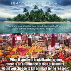 I would starve before eating meat. I physically can't do it. It makes me seriously ill. #vegetarian #goveggie