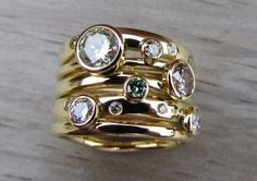 Gems Jewelry, Cute Jewelry, Jewellery, Pearl And Diamond Ring, Square Rings, Art Nouveau Jewelry, Pretty Rings, Ring Designs, Antique Jewelry