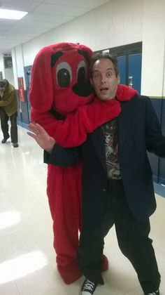 Attacked By Clifford. .... Collingswood Book Festival