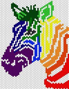 Kandi Patterns for Kandi Cuffs - Animals Pony Bead Patterns Pony Bead Patterns, Kandi Patterns, Hama Beads Patterns, Peyote Patterns, Beading Patterns, Cross Stitching, Cross Stitch Embroidery, Cross Stitch Designs, Cross Stitch Patterns