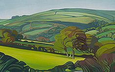 Liscombe View by Anna Dillon