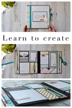 Mini Albums, Mini Scrapbook Albums, Scrapbook Pages, Scrapbooking, Diy Mini Album Tutorial, School Scrapbook Layouts, Chicken Scratch Embroidery, Diy Crafts For Girls, Handmade Birthday Cards