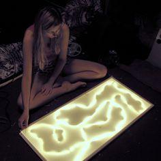 useful crafting: Oryginalna lampa do sypialni, którą możesz zrobić sam