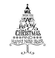 Vintage merry christmas and happy new year vector by AlexVectors on VectorStock. - Vintage merry christmas and happy new year vector by AlexVectors on VectorStock. Merry Christmas Images, Christmas Doodles, Christmas Drawing, Merry Christmas And Happy New Year, Christmas Quotes, Christmas Greetings, Christmas Print, Merry Happy, Green Christmas