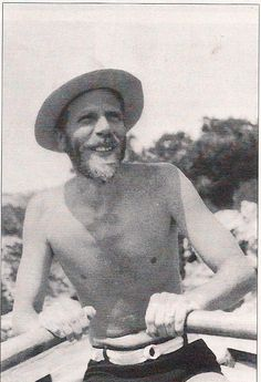 Dr. Theodore Stephanides, famous naturalist and Gerald Durrell's teacher and mentor. On Corfu, late 30's.