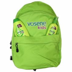 Lucy's mad house: Back to school with Vosene, Win a Backpack Full of Goodies
