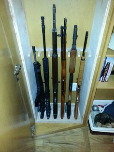 How To Build A Custom Rifle Rack