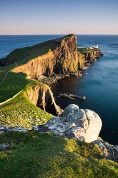 Neist Point Lighthouse, Scoltand.