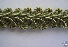 DoveOriginalsTrims - Conso French Gimp Trim Green Mist L47 .5 Inch, $0.99 (http://www.doveoriginalstrims.com/conso-french-gimp-trim-green-mist-l47-5-inch/)