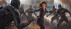 """""""Celebrate Marvel Studios' Anniversary with some of our favorite concept art from the past ten years. Photo Credit: Steve Jung, Avengers Doctor Strange Avengers: Age of Ultron Stephen Schirle, Ant-Man & The Wasp"""" Marvel Fight, Hq Marvel, Marvel Cinematic, Marvel Heroes, Natasha Romanoff, Marvel Characters, Marvel Movies, Hulk, Marvel Concept Art"""