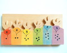 Puzzle bois gros poissons cadeau enfant matériel de par pirondesign Toddler Gifts, Toddler Toys, Bois Diy, Waldorf Toys, Montessori Toys, Wooden Puzzles, Toy Craft, Learning Toys, Wood Toys
