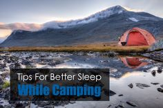 Four Great Sleeping Tips for People that Don't Like to Camp Outdoors | Wilderness Today