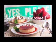 Giới thiệu cách làm bánh Carmel (Flan) với hương vị sữa dừa mới lạ. Hướng dẫn chi tiết cách làm và hấp bánh sao cho bánh mịn màng, không bị rỗ. Hương vị bánh thơm béo, ngợt vừa kết hợp với cafe và vị đắng nhẹ của nước hàng thật hấp dẫn Flan, Caramel, Cooking Recipes, Candy, Breakfast, Pudding, Salt Water Taffy, Sweet, Breakfast Cafe