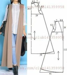 Amazing Sewing Patterns Clone Your Clothes Ideas. Enchanting Sewing Patterns Clone Your Clothes Ideas. Sewing Dress, Dress Sewing Patterns, Sewing Clothes, Clothing Patterns, Sewing Hacks, Sewing Tutorials, Sewing Projects, Fashion Sewing, Diy Fashion