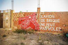 M-city (Poland) #streetart #erriadh #djerba #tunisia #spray