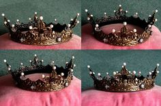 SCA coronet for a Drachenwald Baroness