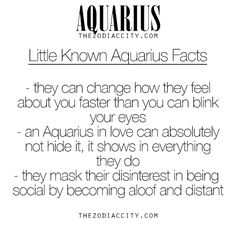 Little Known Zodiac Aquarius Facts. For more information on the zodiac signs, click here.