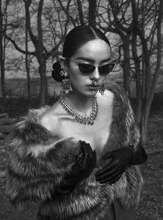 Fei Fei Sun by Mert Alas & Marcus Piggott for Vogue Italia June 2015