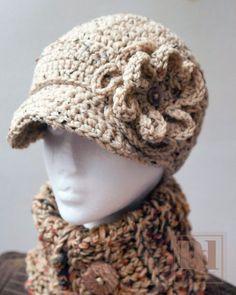 Girls Newsboy hat