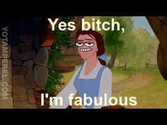 These Grim GIFs Bring Out the Dark and Derpy Side of Our Favorite Disney Princesses - Part 2