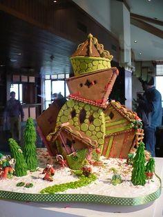 If Dr. Seuss lived in a gingerbread house.... by vera