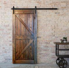 Rustic Barn Door by HolliMox on Etsy