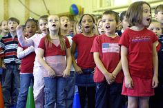 How to Teach Children to Sing in 10 Steps.  Interesting!