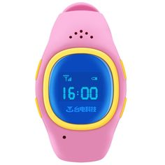 [USD41.89] [EUR37.73] [GBP29.50] Teclast T7 Children Bluetooth Smart Watch, Support GPS Location / SOS / Two Way Phone Call Function(Pink)