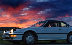 https://flic.kr/p/pYLYct | my 1988 Honda Prelude SI 4WS w/ Sunset