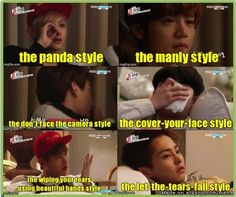 they are so cute , do not cry anymore oppa... XOXO #exo