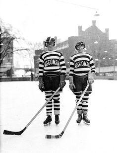 Early Wisconsin hockey.