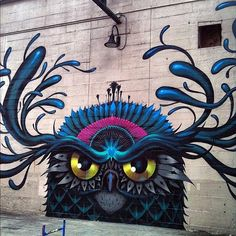 Street art/Graffiti inspiration` Follow the link to a lot more street art.