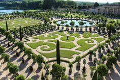 French garden at Versailles Palace - Paris