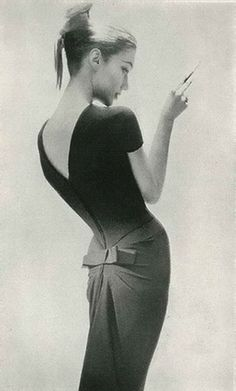 Photographed by Lillian Bassman for Harper's Bazaar