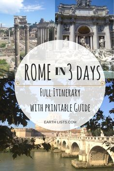 I have a degree in History and Ancient History so clearly I tend to gravitate toward historical Sites. Rome is literally the Holy Grail for History Lovers but there is way too much to fit in. Crazy, I…MoreMore  #ItalyVacation