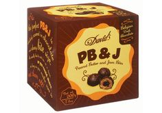 Chocolate Signatures now sells David's PB&J bite-size snacks. Each peanut butter ball is filled with raspberry jam and coated in dark chocolate.