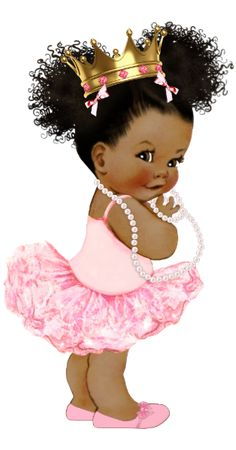 Shop African American Princess Baby Shower Backdrop created by The_Baby_Boutique. Baby Shower Princess, Baby Girl Shower Themes, Baby Girl Princess, Baby Shower Decorations, Disney Princess, Black Baby Girls, Black Girl Art, Baby Clip Art, Baby Art