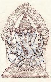 ganesha illustration - Buscar con Google