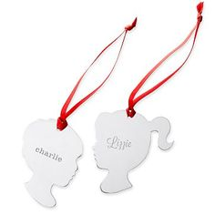 f36f8278eb96 St. Jude Silver Plate Silhouette Ornament - Mark and Graham will donate 20%  of