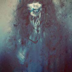 "leslie ann odell layers | Pray"" by Leslie Ann O'Dell. 16"" x 20"" Giclee. Ed of 15 S/N. $150"