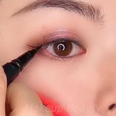 Prom Eye Makeup, Korean Eye Makeup, Halloween Eye Makeup, Eyebrow Makeup, Skin Makeup, Eyeshadow Makeup, Wedding Makeup, Asian Makeup Looks, Arabic Makeup