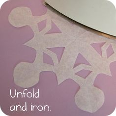 Helping Little Hands: Best Ever Coffee Filter Paper Snowflakes