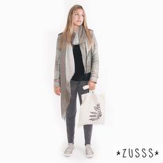Zusss l Kleurendip kleigrijs/grijs l http://www.zusss.nl/product/kleurendip-kleigrijsgrijs/