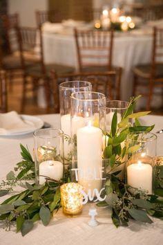 Barn Wedding Centerpieces, Wedding Table Settings, Wedding Table Centerpieces, Wedding Flower Arrangements, Flower Centerpieces, Wedding Decorations, Simple Centerpieces, Graduation Centerpiece, Centerpiece Ideas