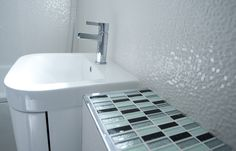 Use mosaic tiles to add an interesting design element