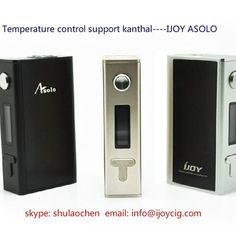 ijoy asolo 200w temperature control mod support all wires all tanks, wholesale please contact us info@ijoycig.com #elitevapesociety #ijoy #asolo 200w #wholesaler #info@Ijoycig.com #elev8vape #ijoy #asolo #ijoyasolo #ipvmini #vapemods #vape #vapeon #vaping #cloud8ejuice #vcloudzjuice #midwestmoddin #hanamodz #DNA30