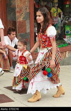 Spain, Canary Islands, Tenerife, Los Realejos, festival, romeria, San Isidro Labrador, people, traditional dress, Stock Photo