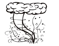 tornado coloring pages how to draw a tornado step 4 chloe