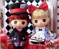 "[Authentic Korean DDUNG]18cm 7"" Alice in Wonderland Couple set  Ddung & Bonggu"