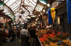 Shuk at Machane Yehuda, a great market in Jerusalem. A must for every Israel tour.